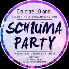 etichetta schiuma party